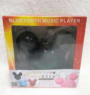 米奇可愛造型,黑色藍牙喇叭