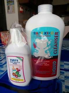 Baby bottles & accessories liquid cleanser, BABY KIKO + Fiffy