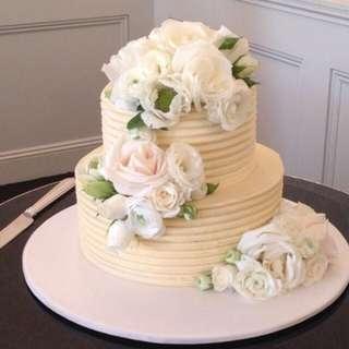 Romantic Wedding Tiered Celebration Cakes