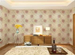 English Flower Wallpaper