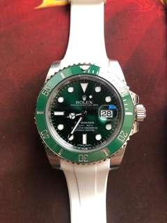 Rolex Submariner Green 绿水鬼 116610lv