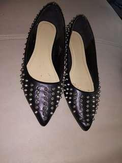 ASOS spiky flats uk8