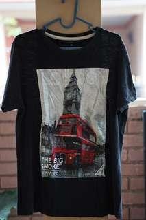 Gianfranco ferre graphic t shirt