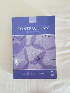 Contract Law by Mindy Chen-Wishart 3rd edition