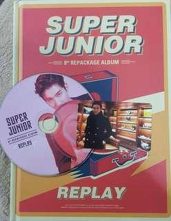 SUPER JUNIOR - REPLAY ALBUM