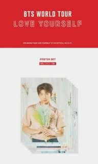 [SHARING] BTS OFFICIAL LOVE YOURSELF MERCH POSTER
