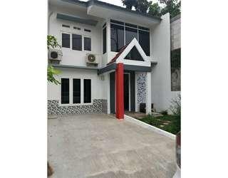 Rumah Cluster 2 Lantai  Konsep Eco Green Di Cipayung Jakarta Timur
