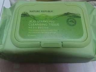 Nature Republic Jeju Sparkling Cleansing Tissue