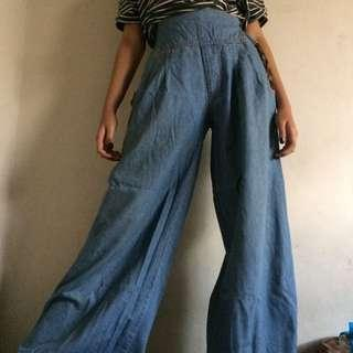 Jeans Cullote / kulot jeans / denim
