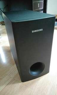 Samsung passive subwoofer speaker unit for home theatre stereo system