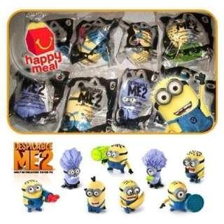 LAST ONE! LIMITED EDITION McD USA Despicable Me 2 Minions!