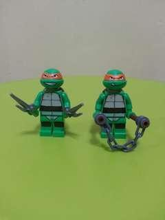Lego TMNT Minifigure - Sell In Lot Of Two Units