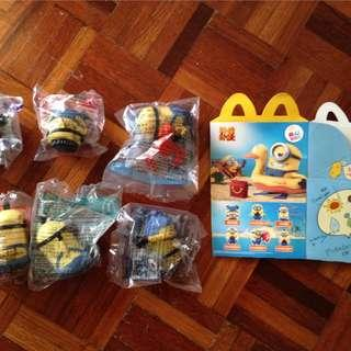 LAST ONE! LIMITED EDITION McD CHINA Despicable Me 2 Minions