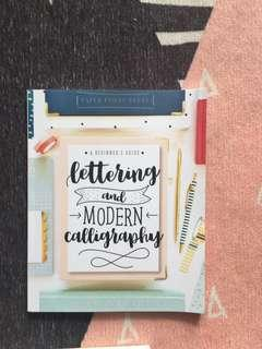 🚚 Lettering and Modern Calligraphy book