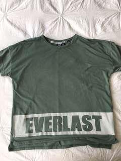 Everlast Khaki top