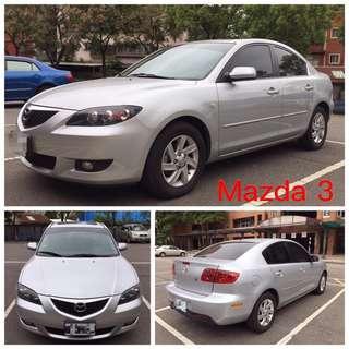 一手車僅跑9萬公里Mazda3 1.6Kd頂級天窗版,可分期輕鬆擁有~買便宜趁現在