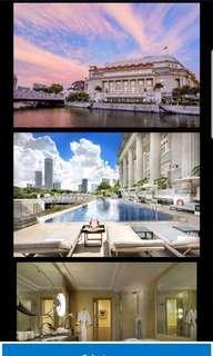2D1N Fullerton Hotel - Weekend Stay @ Courtyard Room