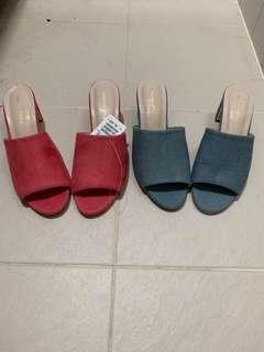 出口日本女裝高踭涼鞋 日本中碼