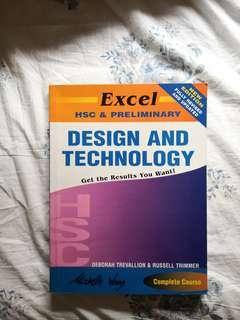 Excel design and tech HSC book