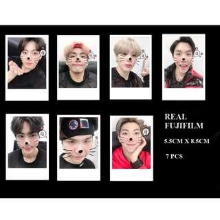BTS unofficial polaroids real fujifilm