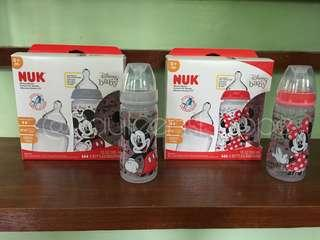 Nuk Minnie and Mickey Mouse Design Bottles 10oz