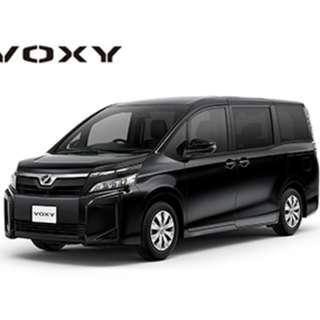 Toyota Voxy Hybrid  (2017) PHV ready