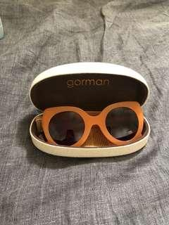 Orange Gorman Sunglasses BNWT