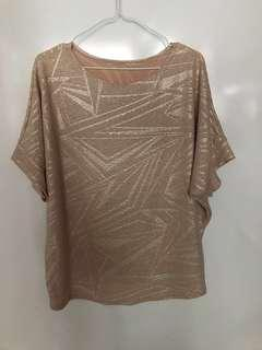 🚚 Women Glitter Loose Top