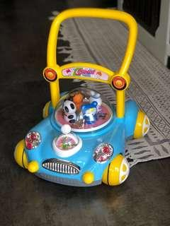 A+B Toddler Walker with Music (Blue)