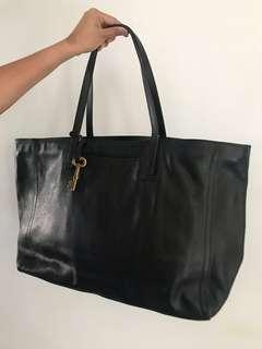 Fossil Black Bag