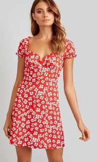 Kookai poppy mini dress 34 BNWT