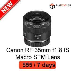[RENT] Canon RF 35mm f/1.8 IS Macro STM Lens