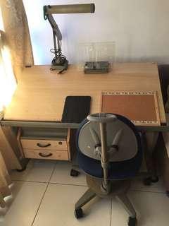 Ergonomic Desk & Chair