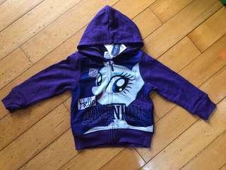 Little Pony 小馬 紫色外套 95碼