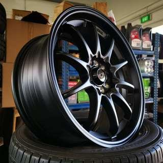 "CE28 17"" Matt Black 5x100 / 5x114.3 (REP)"