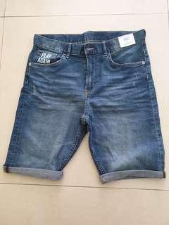 H&M Denim Shorts (Age 12-14)