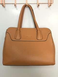 Charles n Keith Handbag Gred AAA Brown