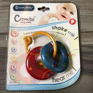 🚚 Lucky Baby Combo Baby Ring Rattle