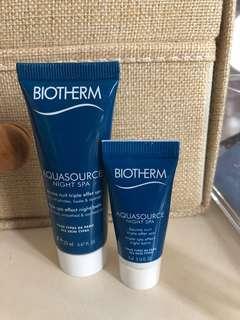 Biotherm AQUASOURCE Night Spa 20ml+5 ml