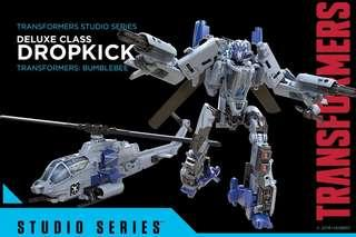 變形金剛 反彈球Dropkick 正版studio series 22 transformers deluxe class takara tomy孩子寶 直升機