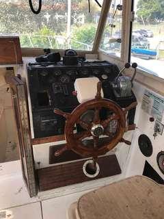 Half cabin boat for sale