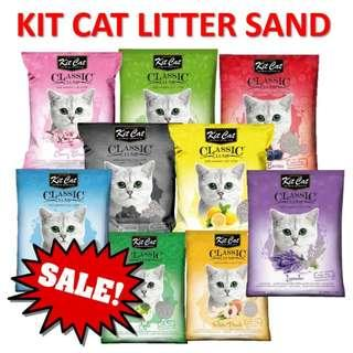 Kit Cat litter sand SALES