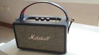 🚚 Marshall Kilburn bluetooth speaker