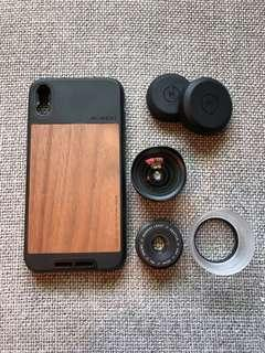 Moment Photography Kit for iPhone X (case + 2 lenses)