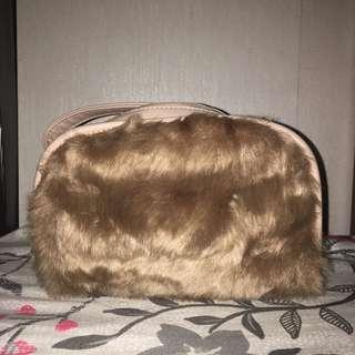 CA138 - COLORBOX Furry Shoulder Bag