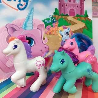 🚚 1998 英國麥當勞限定 My Little Pony G2 McDonalds Happy Meal彩虹小馬 古董公仔