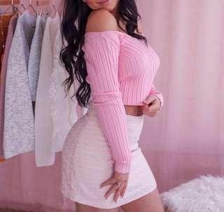 *PRICE DROP* M Boutique Mini Skirt