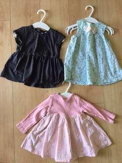 Bundle Dress Baby - H&M & Next