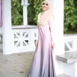 Minimalace Ombre Dress [INCLUDE POSTAGE]