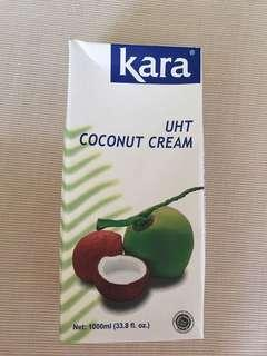 🚚 Kara coconut cream